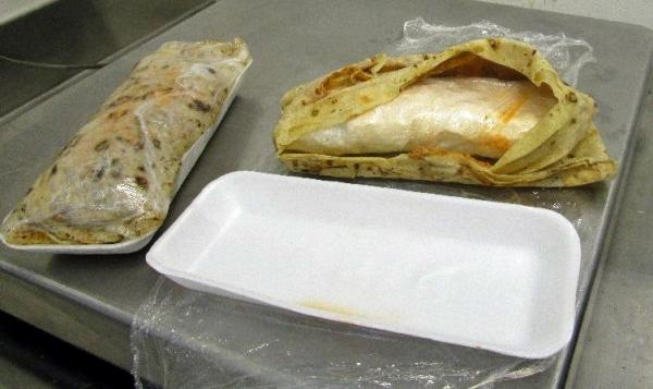Customs-officers-find-burritos-contain-meth-no-guac