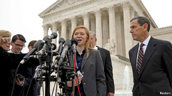 Abigail Fisher. Photo: Reuters