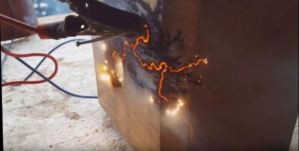 Howto Decorate Wood With Glow In The Dark Lichtenberg
