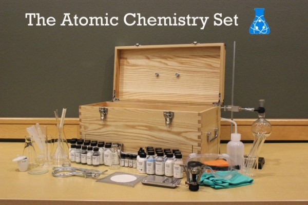 Atomic Chemistry Set - cool Kickstarter project