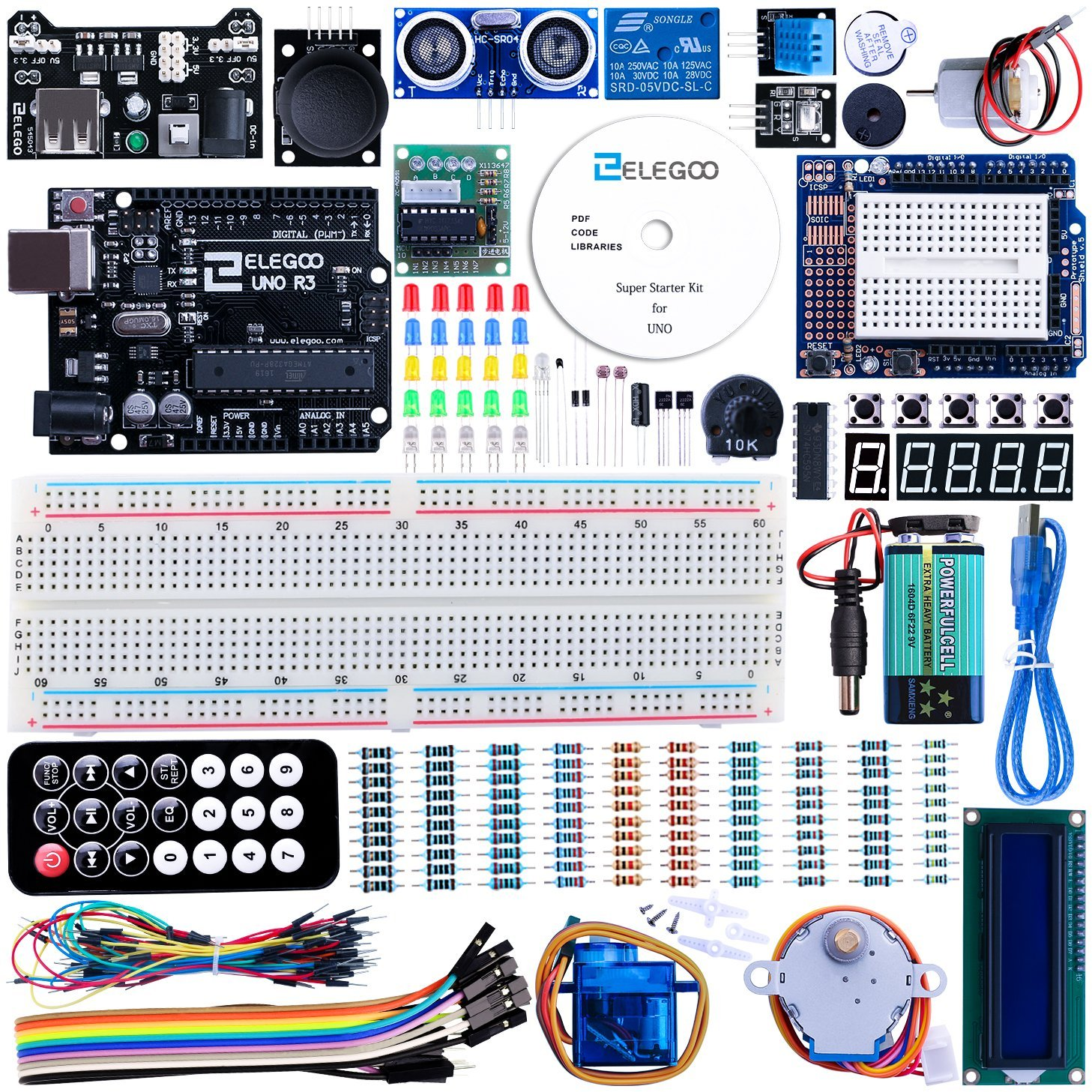 Clone Kit Arduino Clone Project Kit Loaded With Components Boing Boing