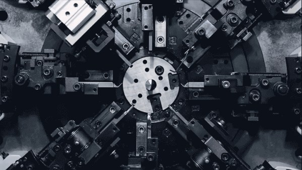 Transfixing videos of industrial machinery accompanied by electronic music