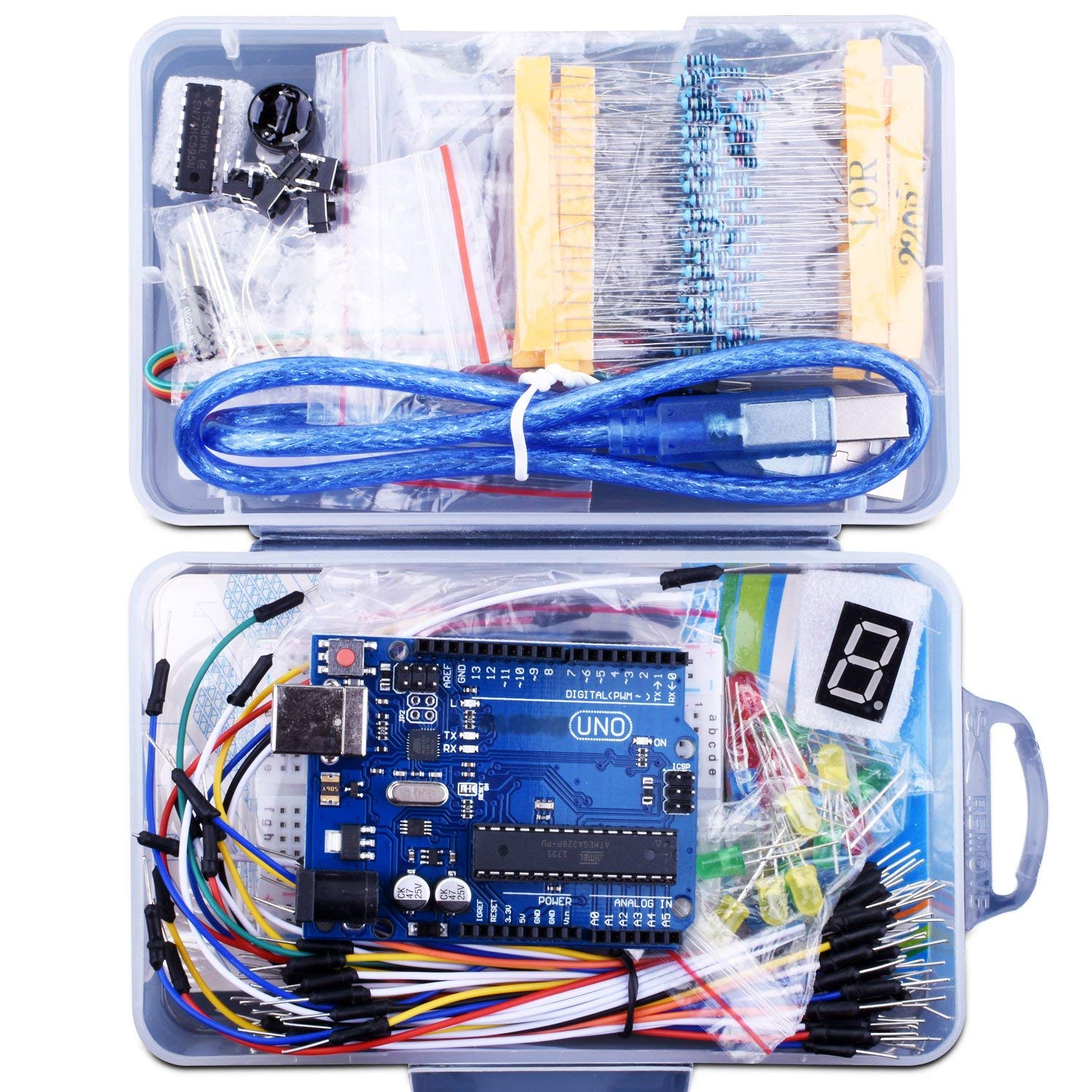 Clone Kit 147 Piece Arduino Clone Kit For 16 Boing Boing