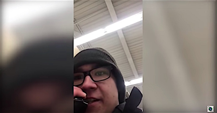 Teen working at Walmart quits his job over the intercom with huge