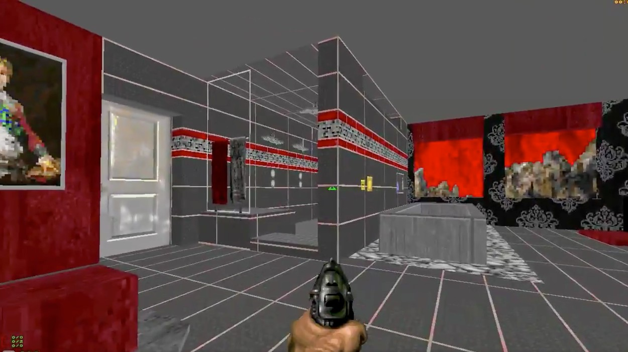 Bathroom Remodel Software Bathdoom A Doom Level Based On A Terrible Bathroom Remodel