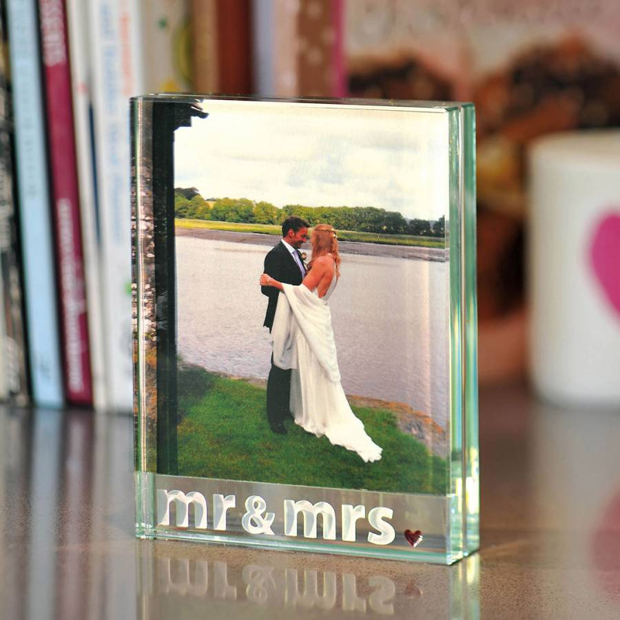 Large Frame Picture Mr Mrs Large Frame 10x13cm