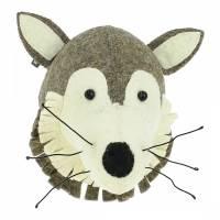 Mini Wolf Wall Decor - BrandAlley