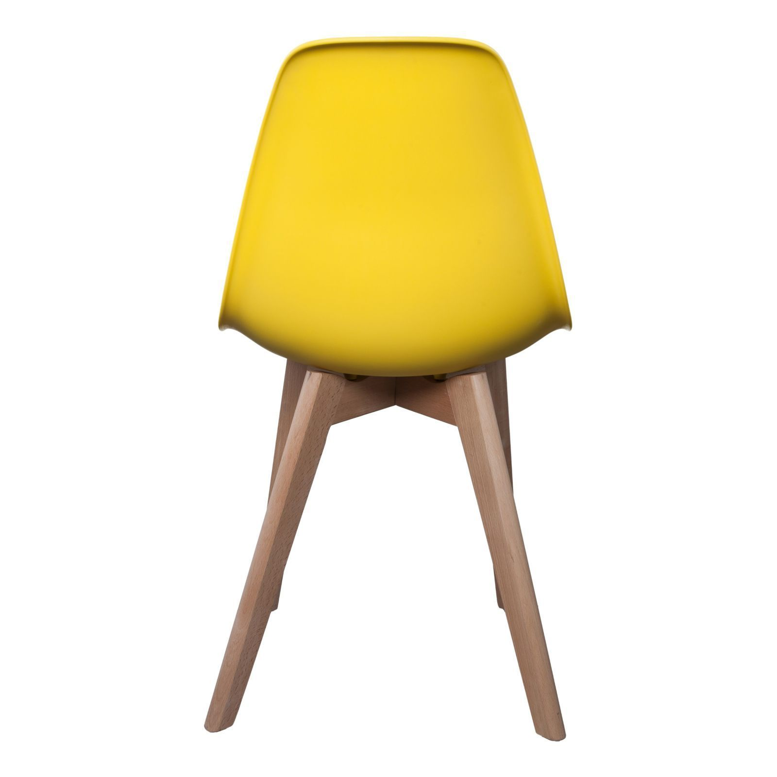 Deco Scandinave Jaune The Home Deco Factory Lot De 2 Chaises Scandinave Jaune