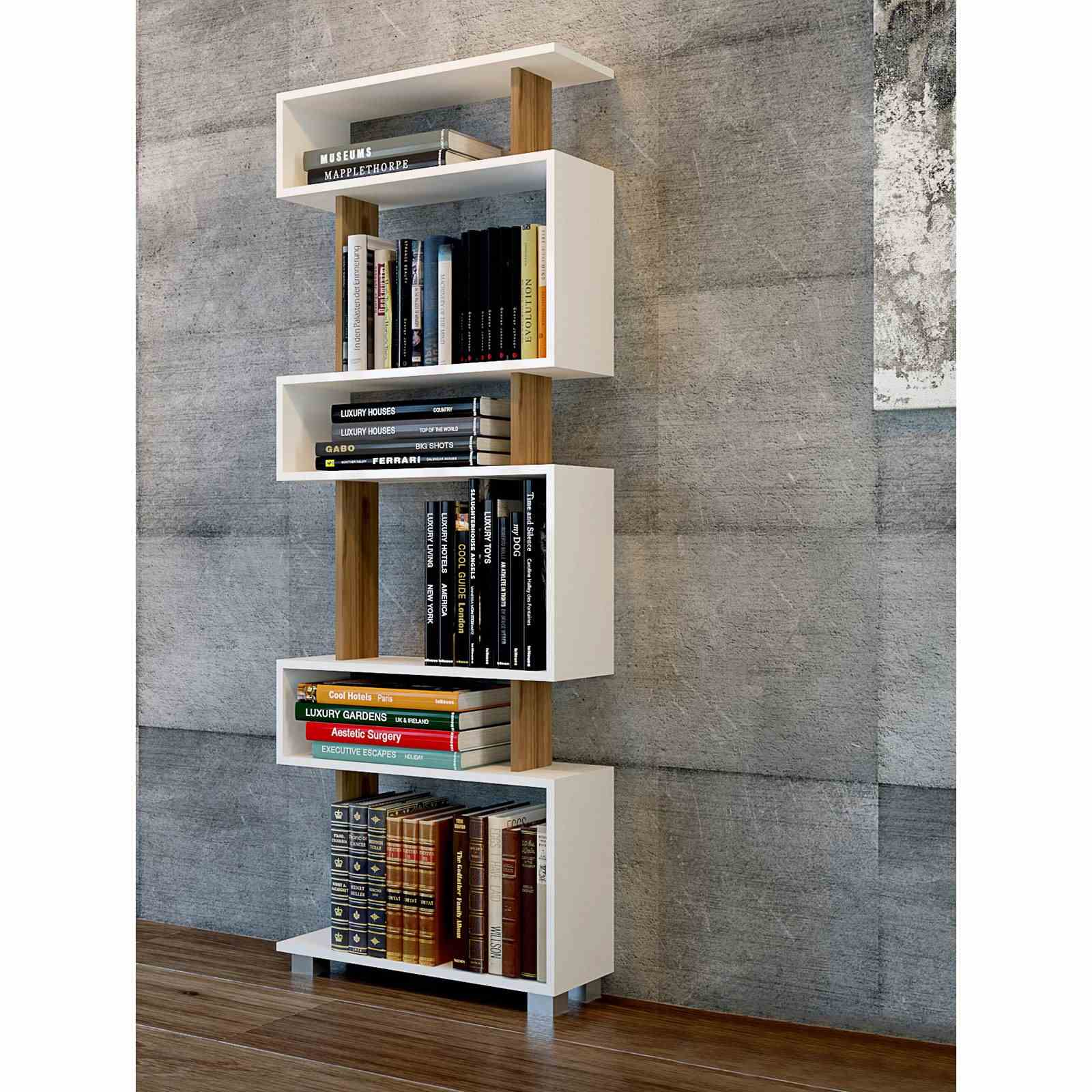 Wooden Art Meuble Bibliotheque Wooden Art