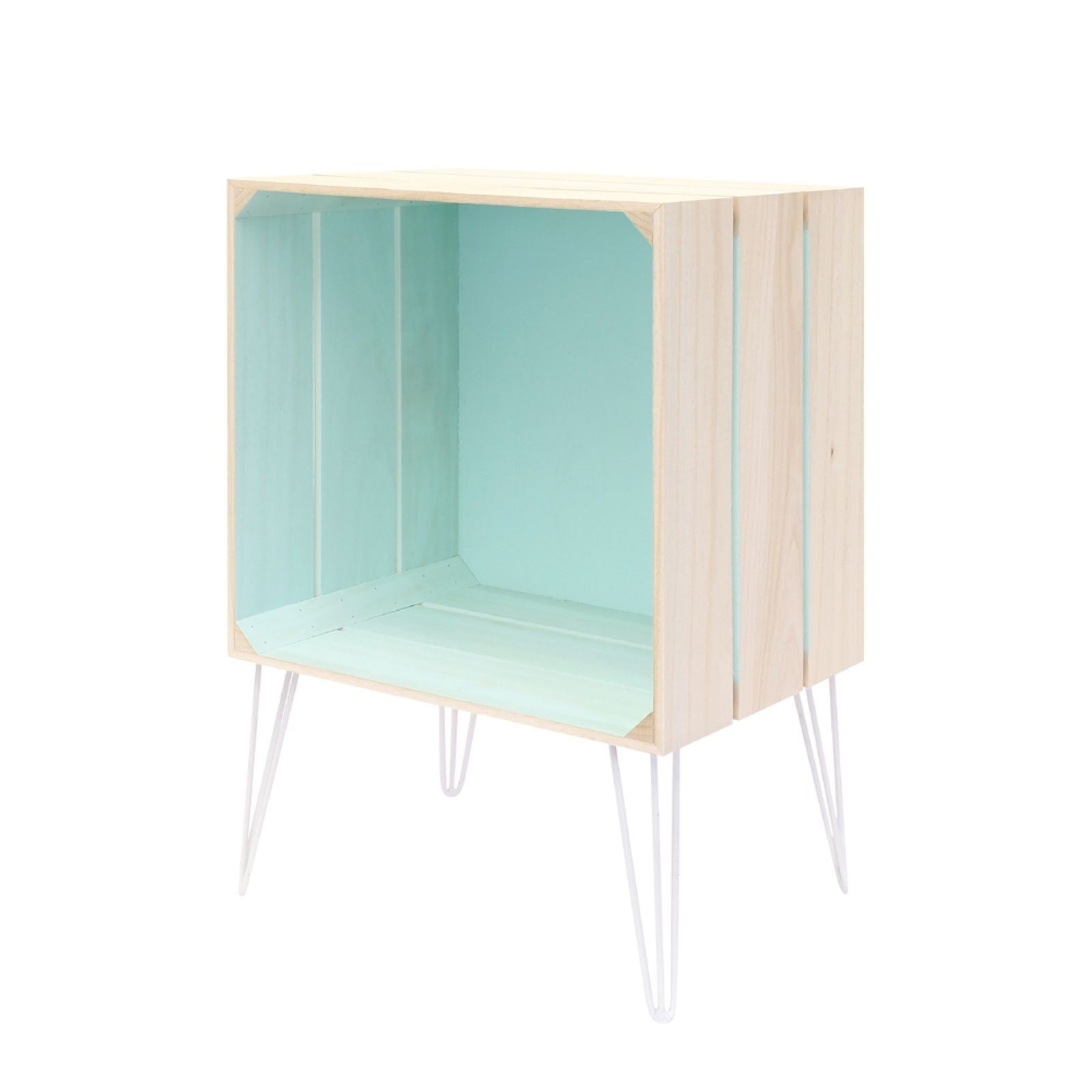 Meuble Tv Cagette Affordable The Home Deco Factory Meuble Cagette Turquoise