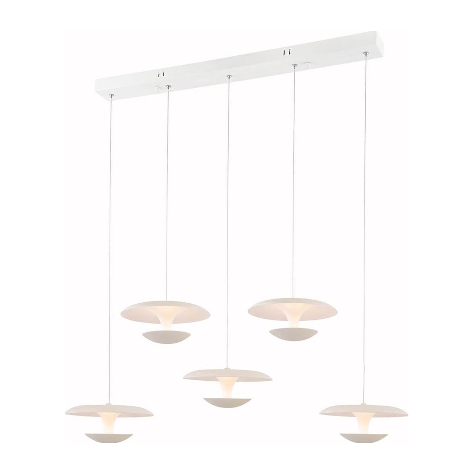 Lampe Ozcan Top Affordable I Light You Marti Suspension Blanc With