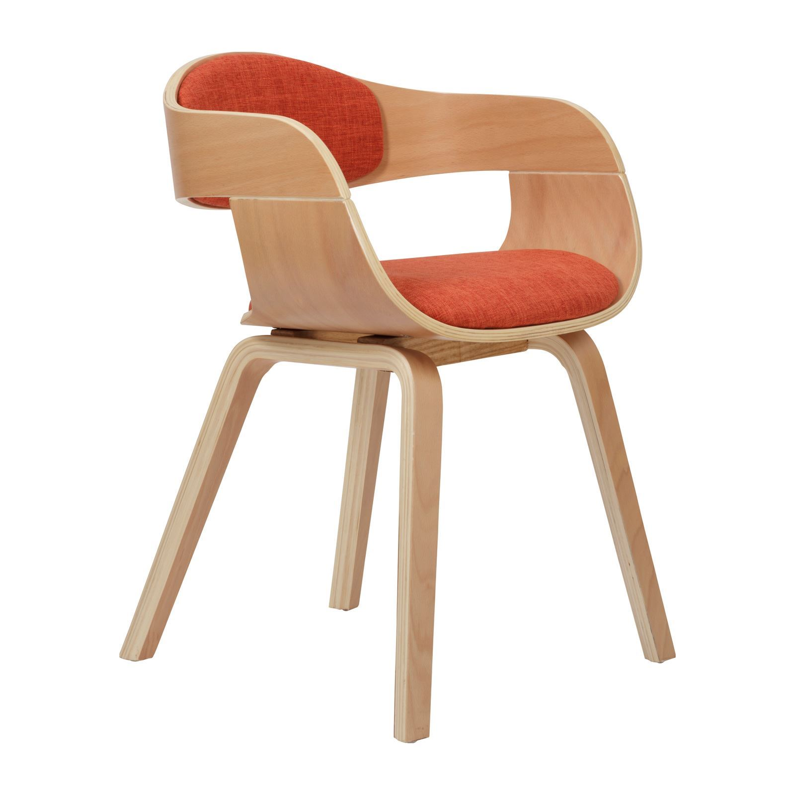 Potiron Fauteuils Potiron Fifties Fauteuil Orange Brandalley
