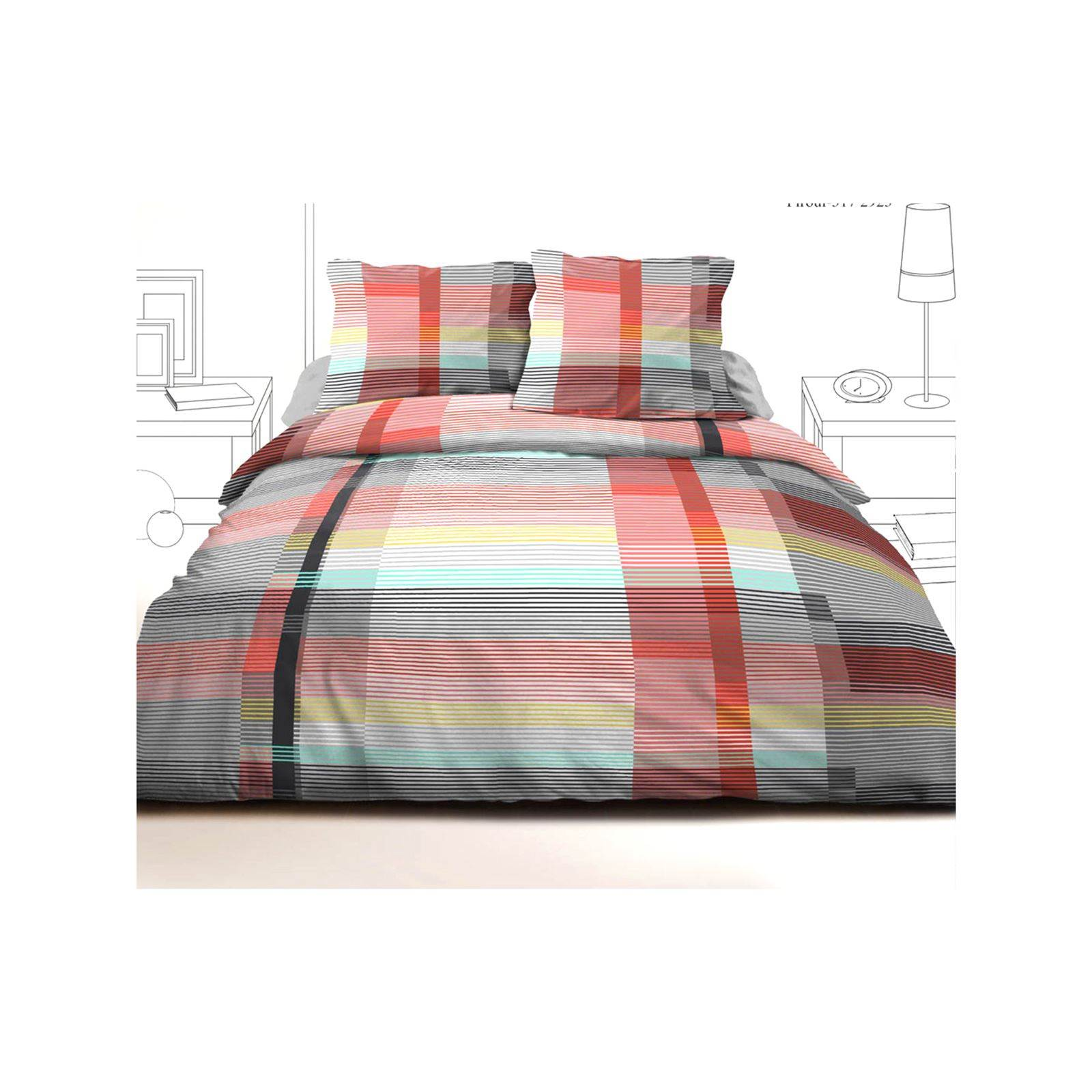 Parure De Lit Multicolore Sweet Home Parure De Lit Multicolore Brandalley