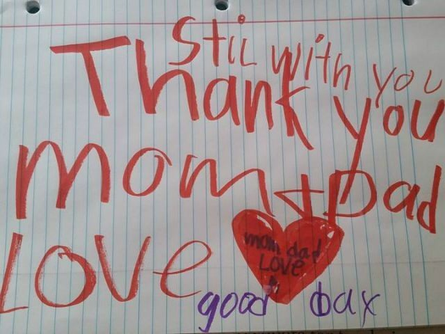Grieving Parents Find Goodbye Note from 6-Year-Old Son After His