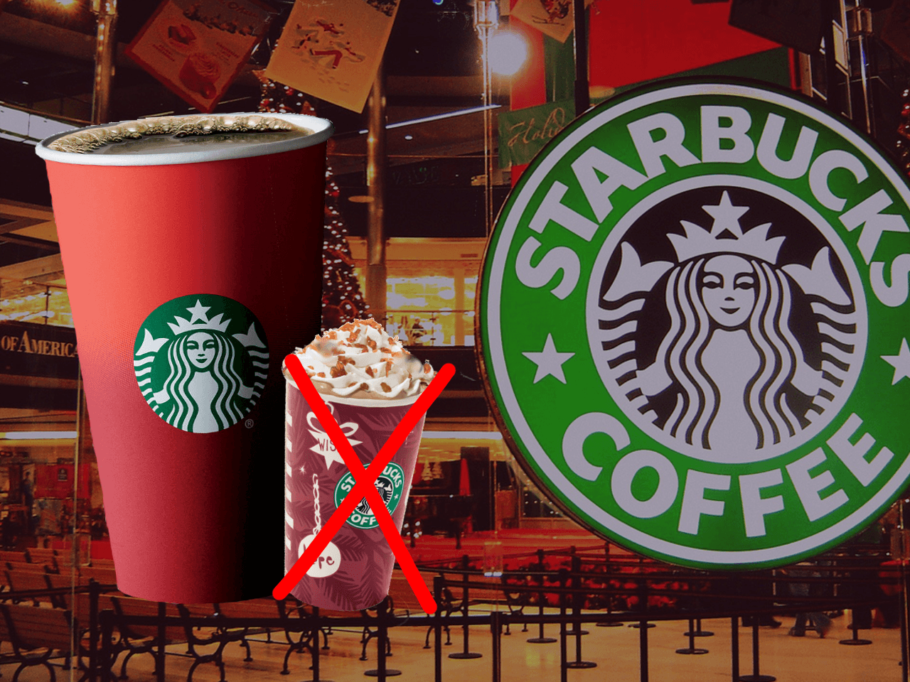 Caramel Macchiato War On Christmas: Starbucks Red Cups Are Emblematic Of The