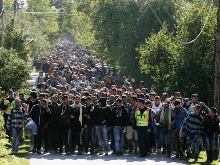 migrant aid groups