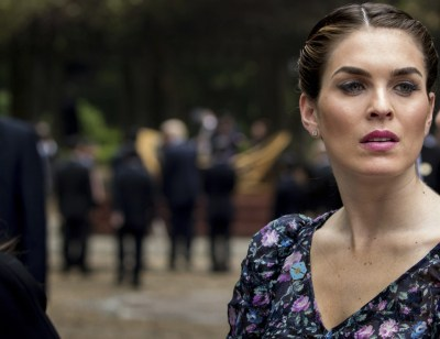 Fashion Notes: Hope Hicks Wears 80s-Inspired Floral Dress in Vietnam