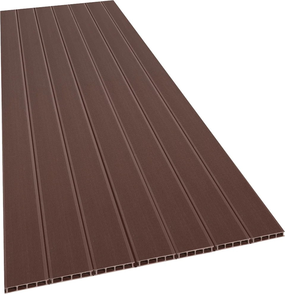 Composite Terrasse Lame Terrasse 21x138x2400 Mm Composite Marron