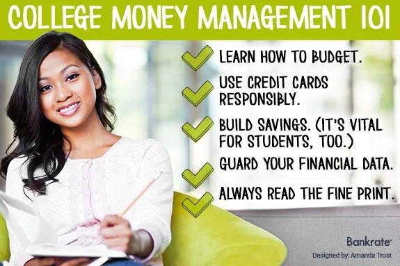 Jean Chatzky 5 money tips for college
