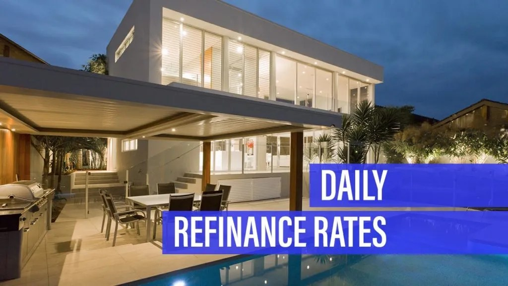 Refinance rates tick higher for Monday