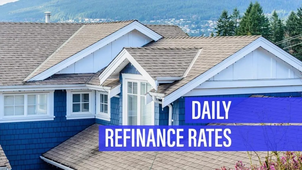 Refinance mortgage rate drops for Tuesday