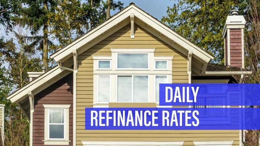 Refinance rates dip for Saturday
