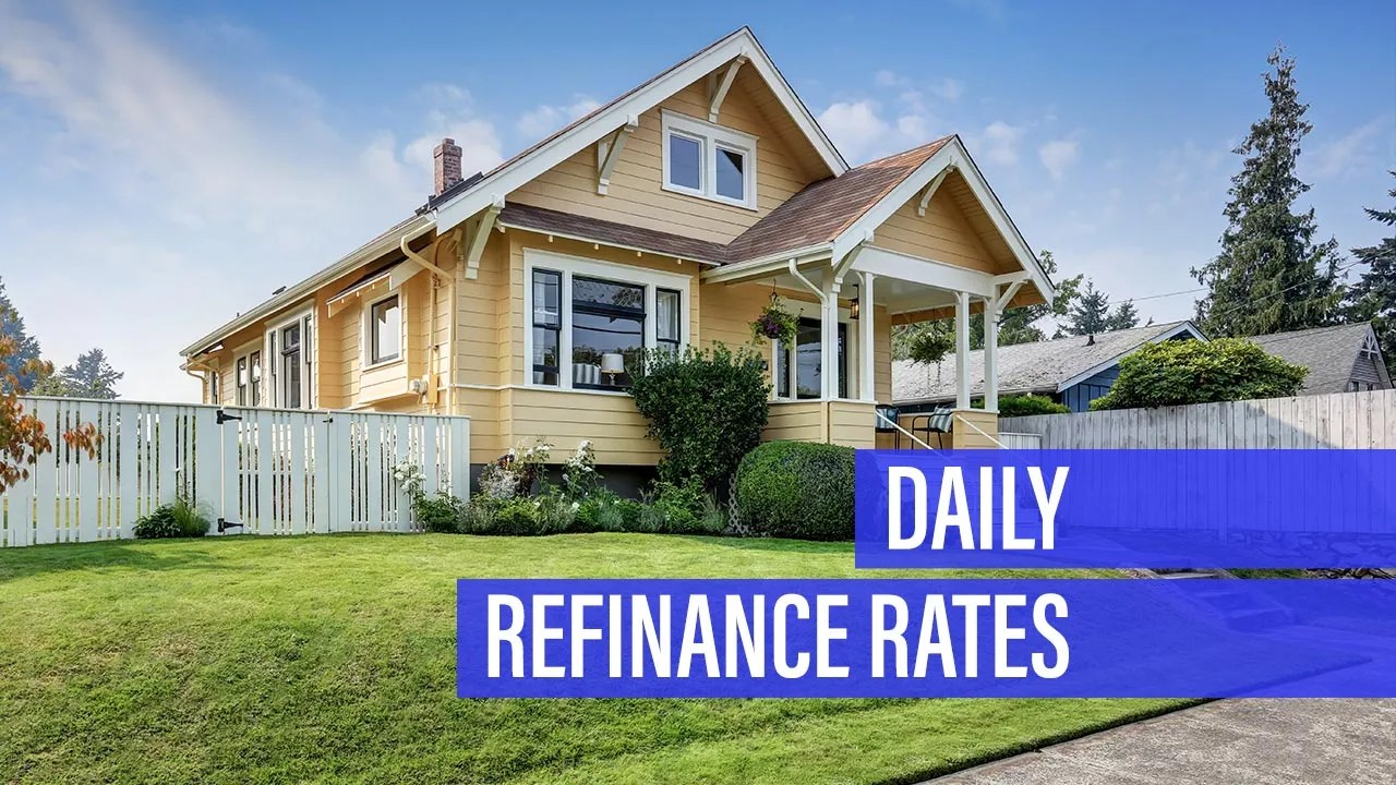 Bank Home Mortgage Rates Refinance Mortgage Rate Retreats For Wednesday