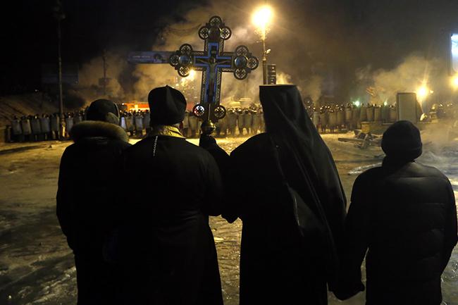 Ukrajina crkva kordon