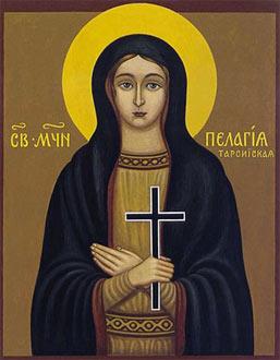 Sveta mučenica Pelagija Tarsijska