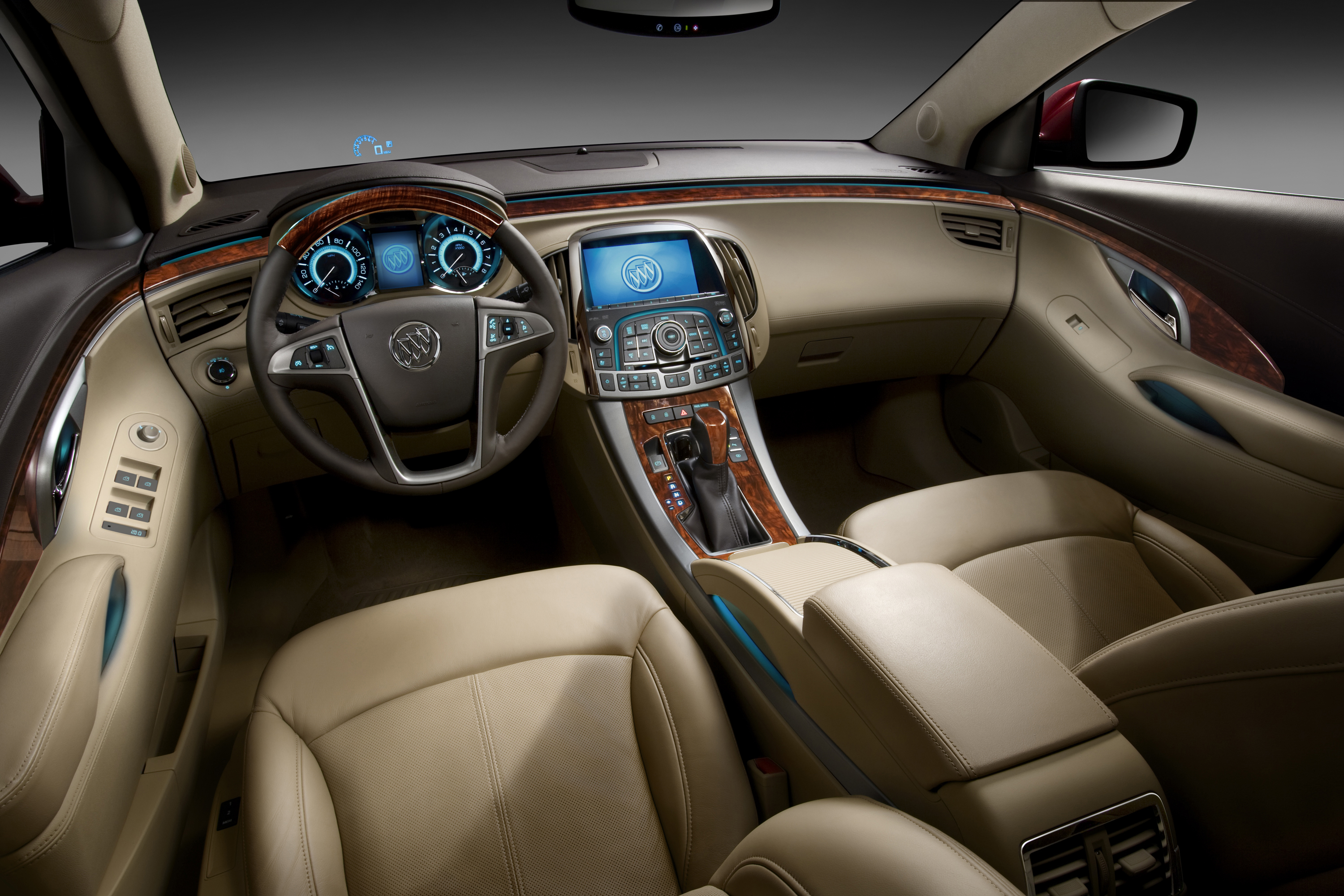 Regal Led Panel Buick Ambient Lighting Warms Cabins With Cool Tech
