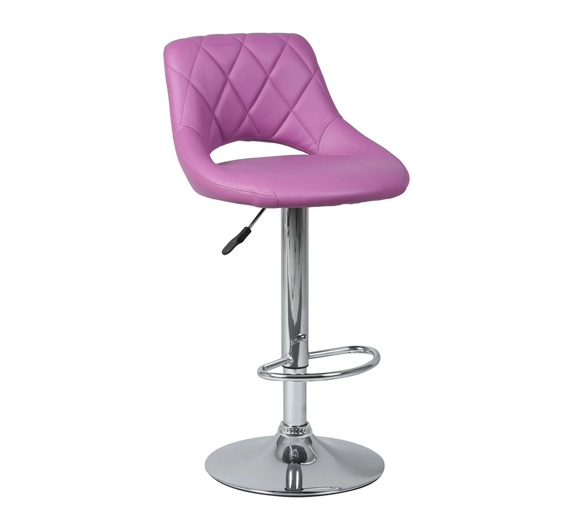 Lot De 2 Tabourets De Bar Violets Hamilton Tabouret But