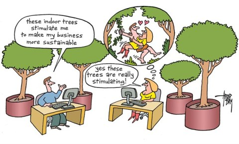 133683 600 sustainable office cartoons