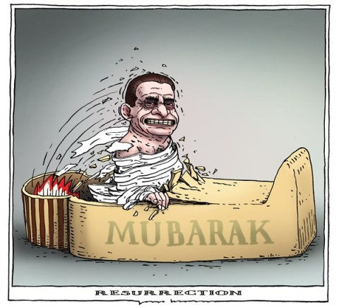 Joep Bertrams - The Netherlands - resurrection - English - mubarak, egypt, resurrection, farao