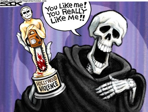 Steve Sack - The Minneapolis Star Tribune - Best ViolenceCOLOR - English - Hollywood, violence, media, culture