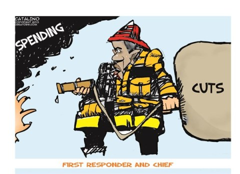 135373 600 First Responder and Chief cartoons