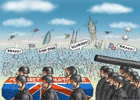 130440 600 Funeral of Margaret Thatcher cartoons