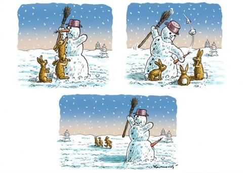 141631 600 Showman Snowman cartoons