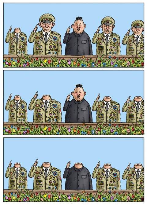 141722 600 North Korea cartoons