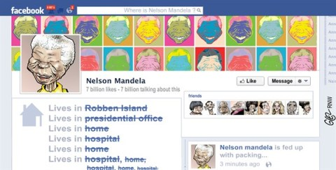 130040 600 Mandela on Facebook cartoons