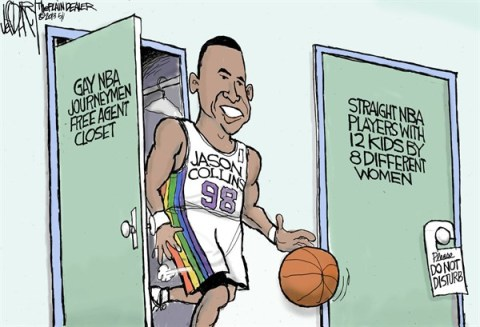 Jeff Darcy - The Cleveland Plain Dealer - NBA Sexual Orientations - English - Jason Collins