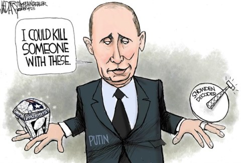 Jeff Darcy - The Cleveland Plain Dealer - Putin's Snowden ring - English - Putin, Super Bowl ring, Snowden
