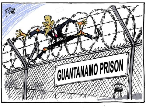 Tom Janssen - The Netherlands - Obama and Guantanamo - English - Obama and Guantanamo, Guantanamo prison,