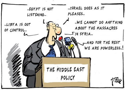 Tom Janssen - The Netherlands - Middle East policy - English - Middle East policy, Egypt, Syria, Libya, Israel