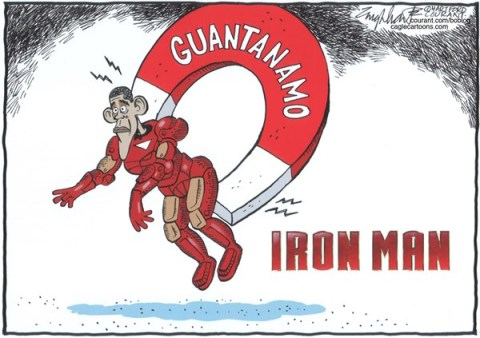 Bob Englehart - The Hartford Courant - Guantanamo - English -