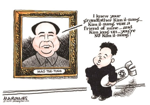 Jimmy Margulies - The Record of Hackensack, NJ - Kim jong un - English - Kim jong un, North Korea, North Korea nukes, Kim il-sung, South Korea