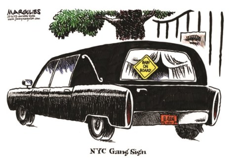 Jimmy Margulies - The Record of Hackensack, NJ - Baby murdered in NYC color - English - Baby murdered in NYC, guns, gangs, gang violence
