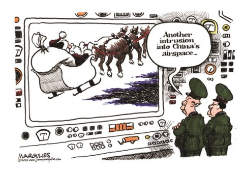 Jimmy Margulies - The Record of Hackensack, NJ - Chinese airspace color - English - China, Chinese airspace, Japan, South Korea, Asia