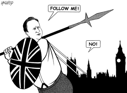 Rainer Hachfeld - Neues Deutschland, Germany - Cameron's failure - English - David Cameron, British Parliament