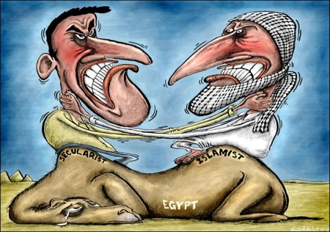 Brian Adcock - The Scotland - Egypt's Problems Are Due To Religion  - English - islam, muslims, religion, Egypt, secularist, islamist, unrest, camel, strangle, arab spring, revolution,