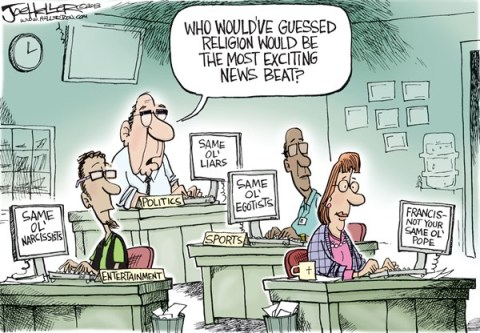 Joe Heller - Green Bay Press-Gazette - Pope News - English - Pope francis, journalists, beats, news coverage, catholic